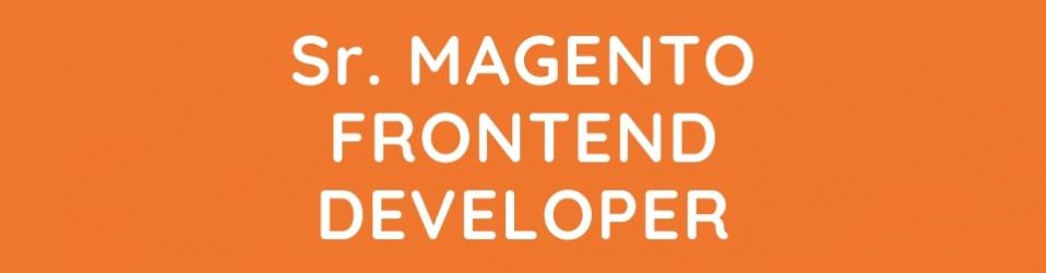 Senior Magento Front-End Developer